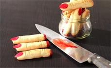 Halloween severed fingers