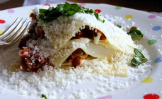 Pork ragu lasagne