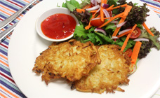 Potato pancakes (Mock fish)