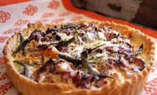 Savoury tart
