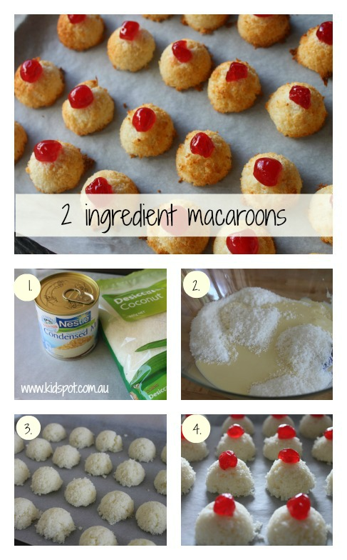 2 ingredient macaroons