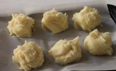 Frozen mashed potato balls