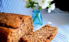Hazelnut buttermilk and banana bread