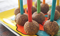 Healthy choc pops
