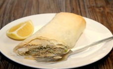 Healthy salamon sausage rolls