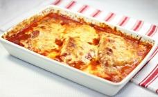 Healthy turkey parmigiana