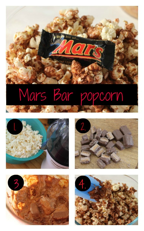 Mars Bar popcorn