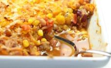 Mexican bean bake