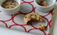 Microwave choc chip cookies
