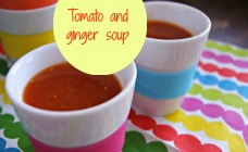 Tomato and ginger soup