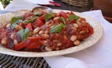 White bean peperonata