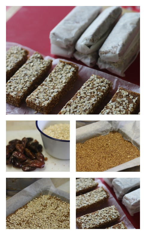 2 ingredient energy bars