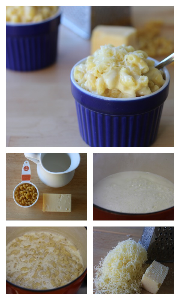 3 ingredient mac and cheese