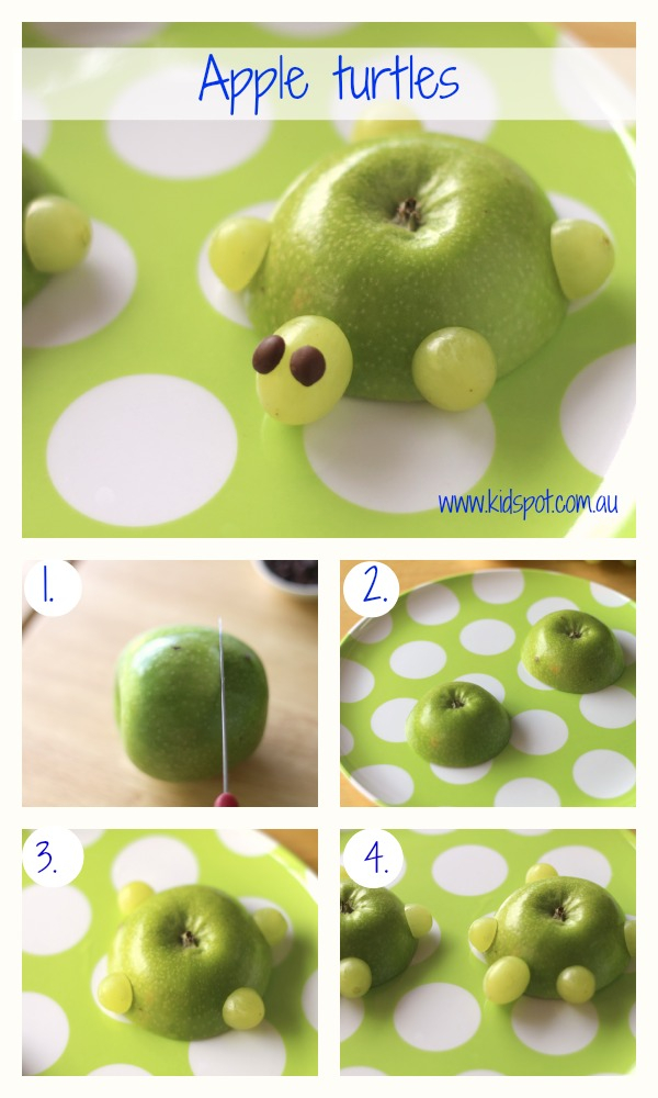 Apple turtles