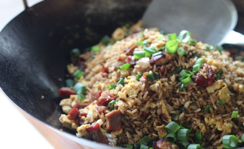 Char sui fried rice
