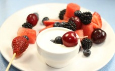 2 Ingredient Cheesecake Dip With Fruit Recipe