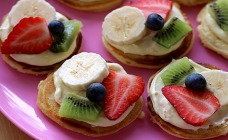 Fruity Pizzas