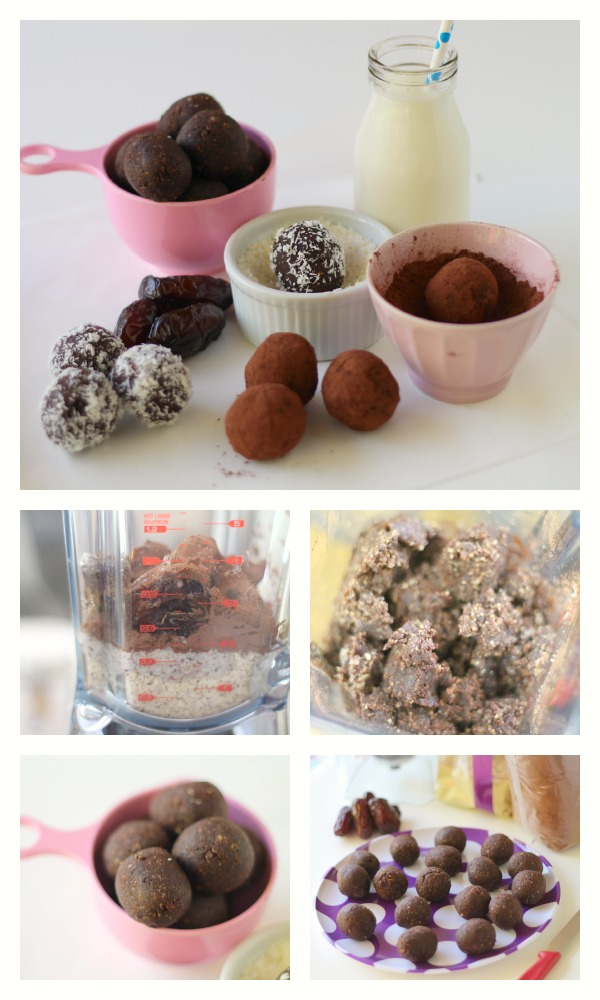 Healthy Nutella bites