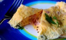 Omelette in a bag