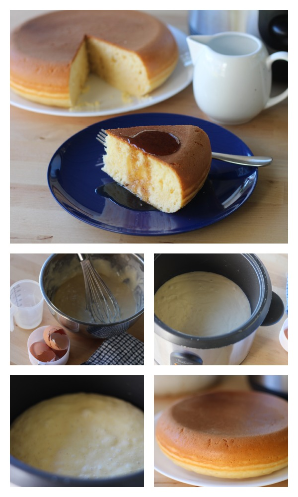 Rice cooker cake