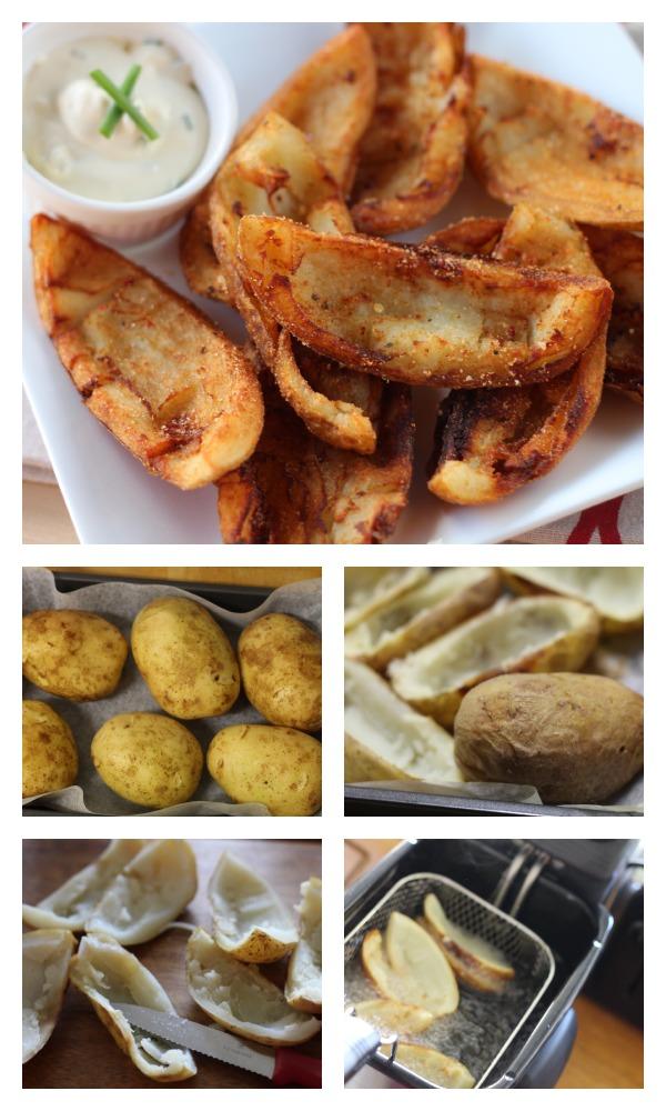 Sizzler potato skins