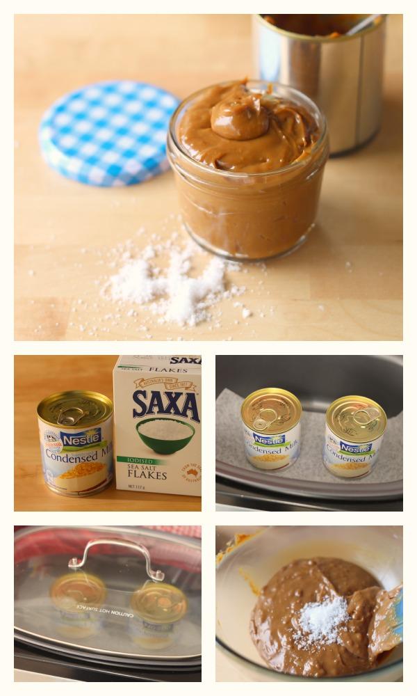 Slow cooker salted caramel