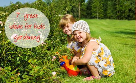Kidspot gardening for kids