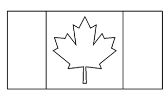 Canadian Flag Free Printable