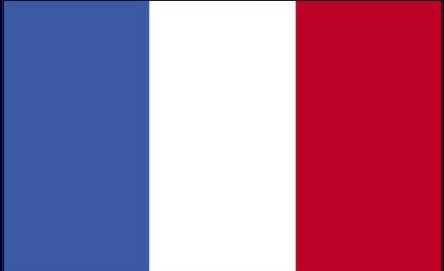 French Flag  Free Printable  Colouring Pages