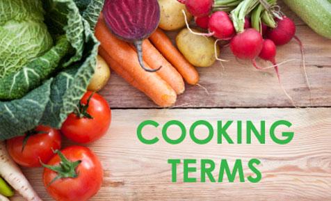 Cooking Terms Kidspot