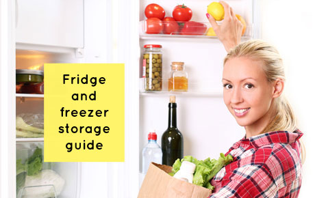 Fridge and Freezer storage