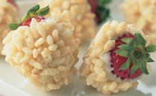 White Choclate Strawberries