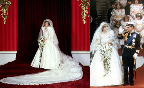 Lady Diana's wedding