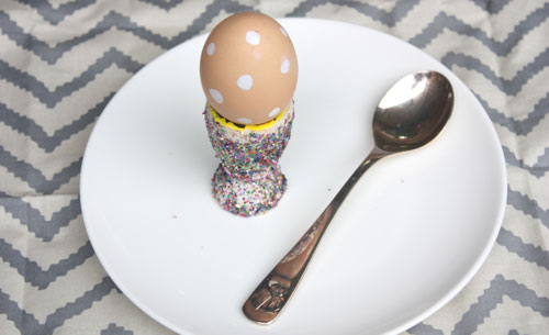 Sparkly egg cup