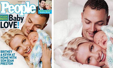 Britney's baby Sean