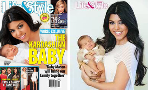 Kourtney's baby Mason