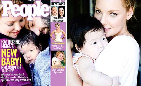 Katherine's baby Naleigh