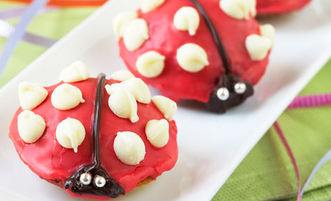 Make choc chip beetles