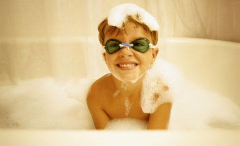 Make bubble bath