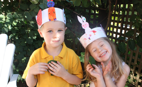 Easy Easter egg crown