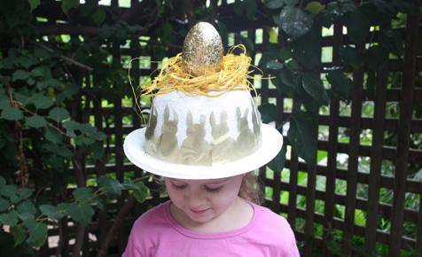 Make a cute Easter hat