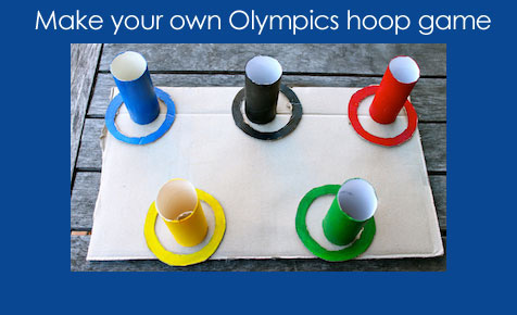 Olympic hoop game