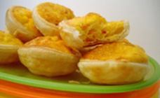 Do Your Kids Love Quiche In Their Lunch Box But You Shudder At The Fat Levels These Cute Mini Quiches Are Fast Full Of Protein And Bursting With