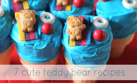 Cute teddy bear recipes