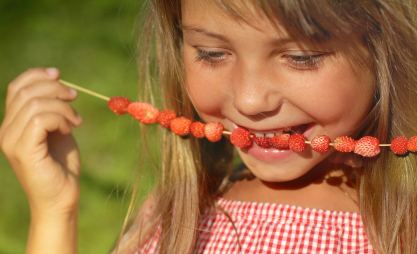 Healthy vegetarian eating for children
