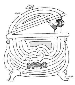 Boy In The Boiler Maze