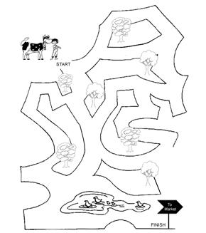 Cow Maze