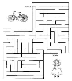 Daisy's Bike Maze