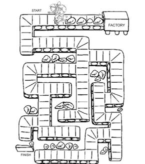 Kids Factory Maze