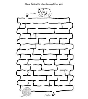 Kitten Maze